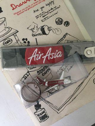 (Two!) New AirAsia Keychains