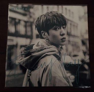 WINNER EVERYD4Y Japan Limited Edition Album Kang Seung Yoon ver.
