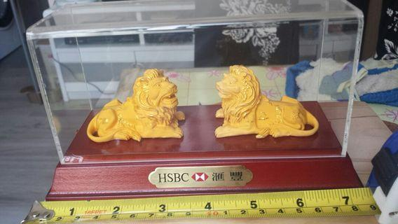 HSBC 滙豐獅子擺設一
