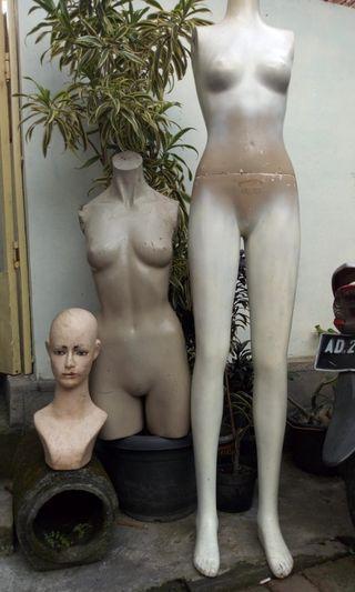 #BAPAU manekin full body FREE manekin stgh body & kepala