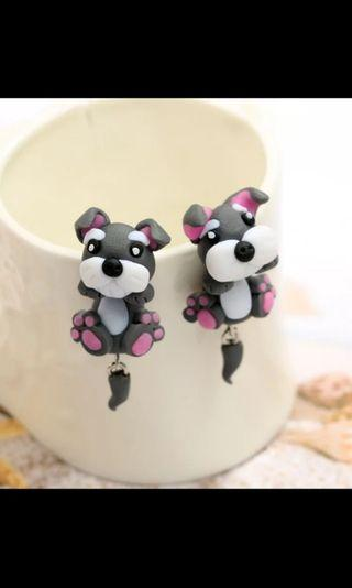 Dog Stud Earrings