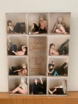 [OFFICIAL ALBUM FROM KOREA] Super Junior 6th Album Sexy Free and Single