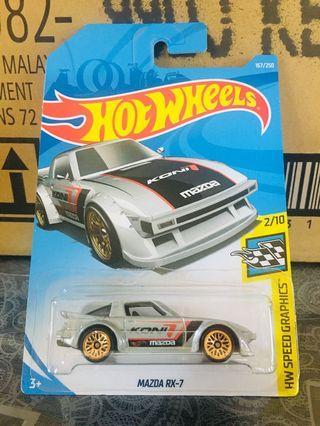 Hotwheels Mazda RX-7