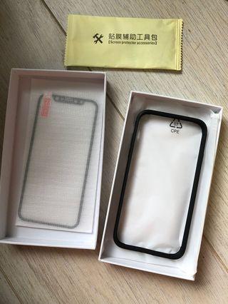 全新iphone x/xs bumper,鋼質地 電話殻