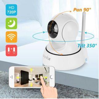 🚚 Home Security IP Camera Wi-Fi Wireless Mini Network Camera Surveillance Wifi 720P Night Vision CCTV Camera Baby Monitor