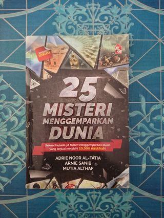 Buku 25 Misteri Menggemparkan Dunia