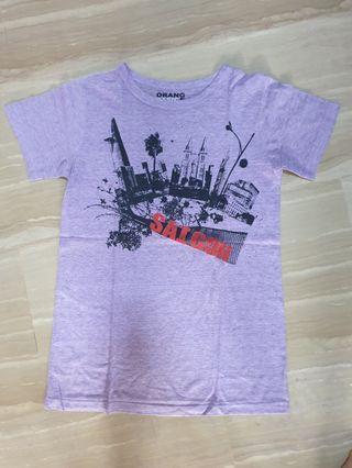 Purple Saigon Tee Size S