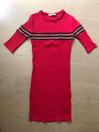 Pull & Bear School Theme Dress