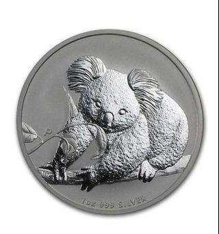 2010 Koala Silver