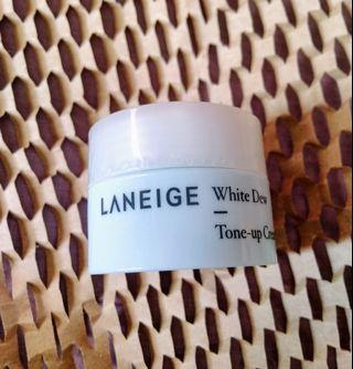 #BAPAU Laneige White Dew Tone Up Cream