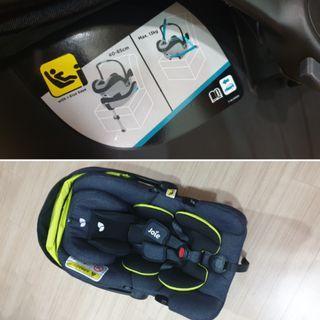 Joei i-Gemm Infant Carrier + Pact Flex Signature Stroller