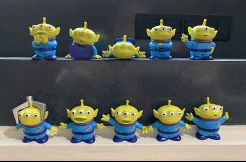 三眼仔figure 十兄弟 表情 玩具總動員 Toystory