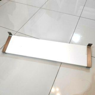 Ikea wall shelf with brackets Ekby Bjarnum #RayaHome