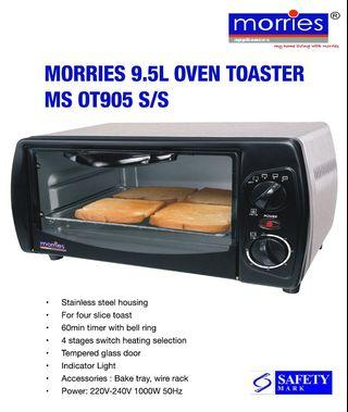 🚚 Morries Stainless Steel Oven Toaster