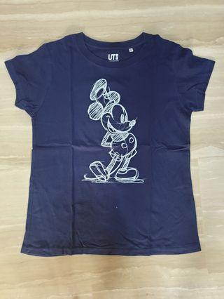 Uniqlo Mickey Mouse Tee Size S
