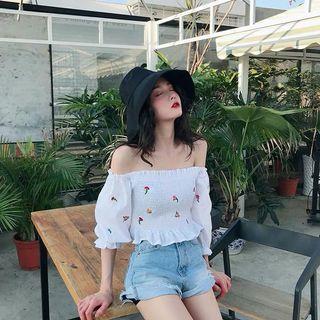 PO: Felicia Floral Off Shoulder Top