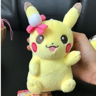 Pikachu, Snorlax, Conan, Froggie [Caught from Arcade in Tokyo!]
