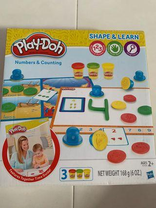 BN playdoh shape and learn