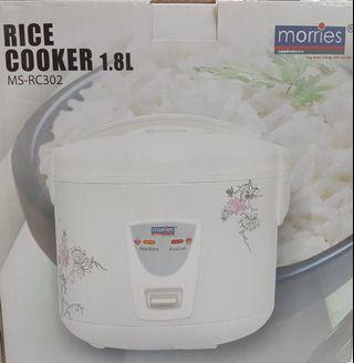 🚚 Morries Rice Cooker 1.8L