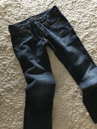 Levi's Denim Dark Blue Jeans