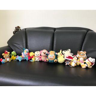 Stuffed dolls from Tokyo - Selling all for $200