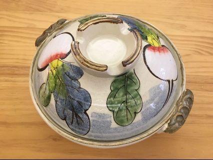 美麗的花花砂鍋