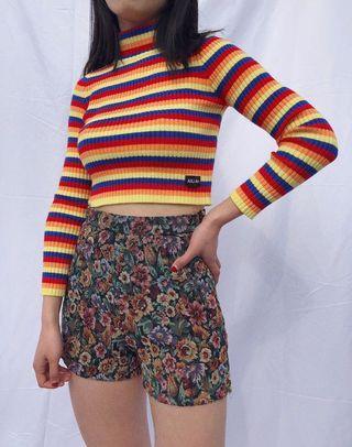 PO: Vintage Highwaist Rosette Shorts