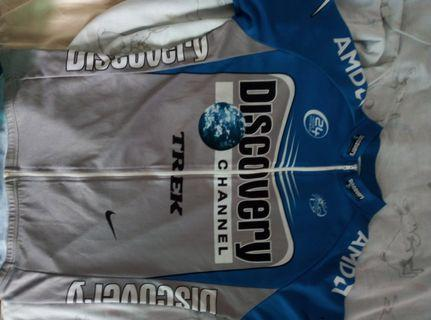Discovery Channel Cycling Jersey