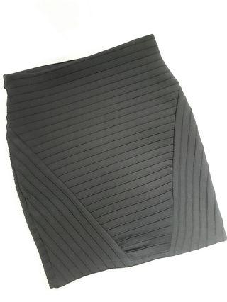 Bershka黑色包臀修身短裙 Skirt