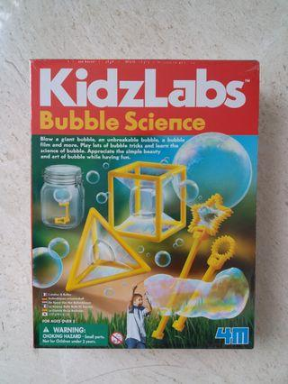 Brand new/ sealed : kidzlabs bubble science