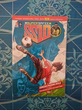 Komik (Super Safee) SS10 : Gergasi Padang Bola