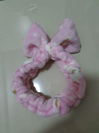 Cute ribbon elastic headband