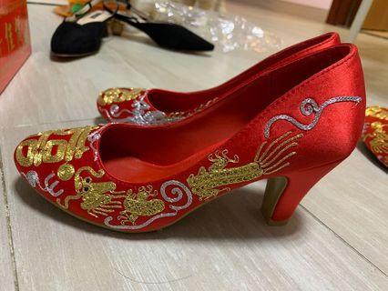 35號中式褂鞋