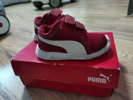 Puma Baby Shoes ST Trainer RED