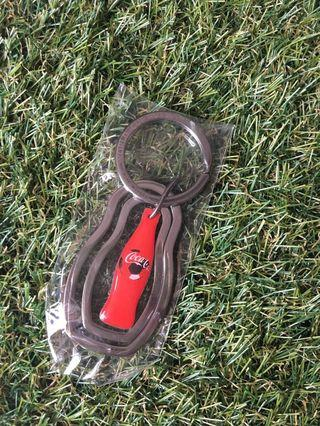 Coke keychain