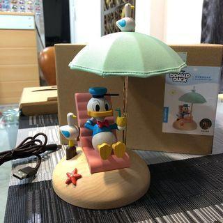 唐老鴨造型傘燈 全新 2018年製