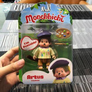 Monchichi 公仔 全新 小畫家