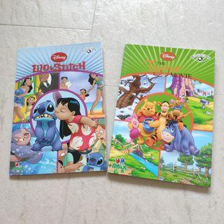 Disney 故事書 全新 連朗讀CD