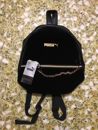 *Preorder* Puma Backpack + Gold Chain