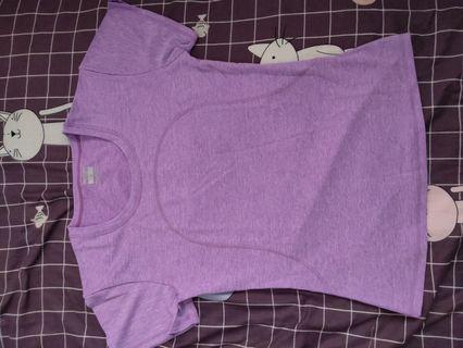 🚚 Purple Dry Fit T-shirt