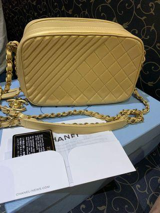 AUTHENTIC CHANEL CAMERA SLING