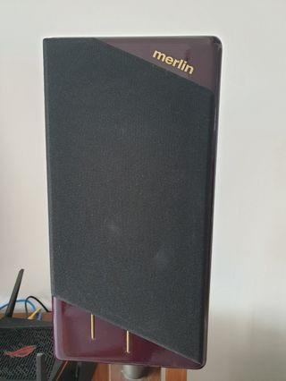 Merlin Audio MME Speakers with stand