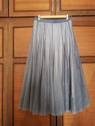 High quality grey tutu skirt