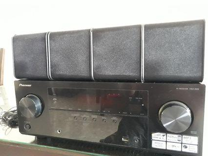🚚 Home theater Pioneer Amplifier 5.1 Chanel