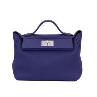 (NEW) HERMES SAC 24/24 TAURILLON CLEMENCE SHOULDER BAGS PHW