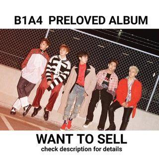 B1A4 Preloved Album