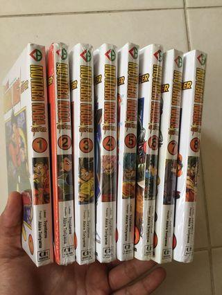 Dragon Ball Super 1-8