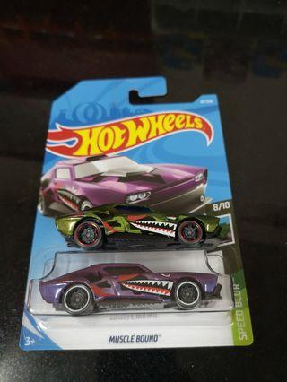 Hotwheels muscle bound lot