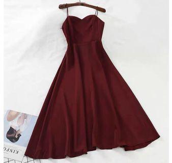 長版連身裙