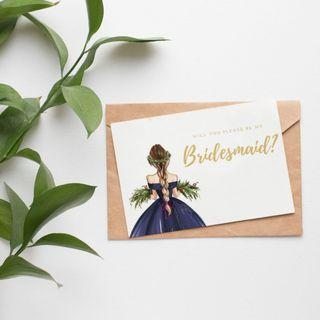 🚚 Beautiful & affordable Bridesmaid proposal cards